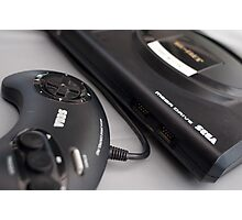Sega Megadrive Photographic Print