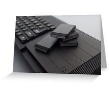 Sinclair QL Greeting Card