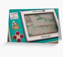 Nintendo game & watch - Donkey Kong Greeting Card