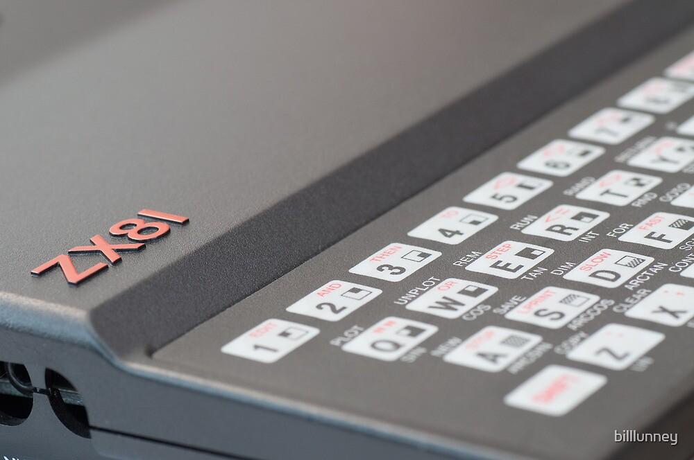 Sinclair ZX81 by billlunney