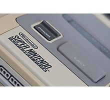 Super Nintendo (SNES) Photographic Print