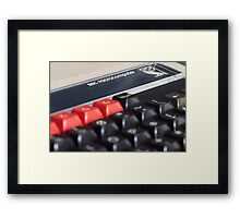 BBC micro computer Framed Print