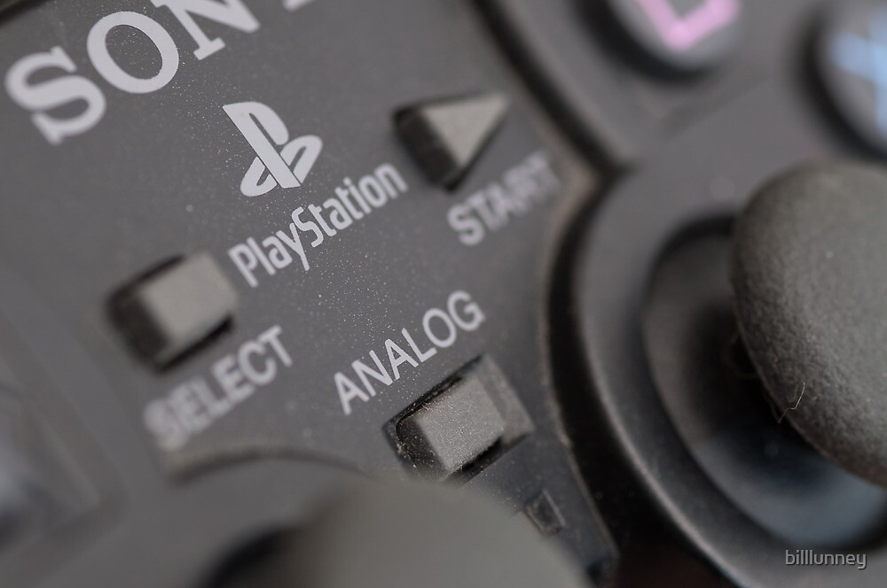 Sony Playstation controller by billlunney