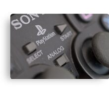 Sony Playstation controller Canvas Print