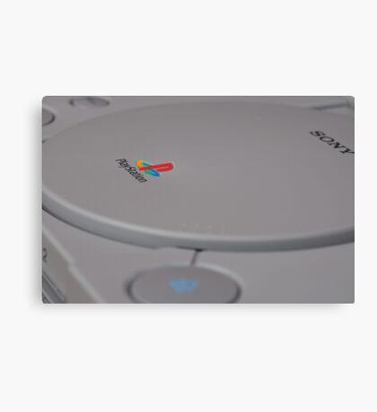 Sony Playstation Canvas Print