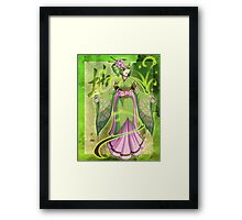 Mages of the Elements .:. Earth Framed Print