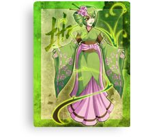 Mages of the Elements .:. Earth Canvas Print
