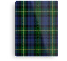 00034 Gordon Clan/Family Tartan Metal Print