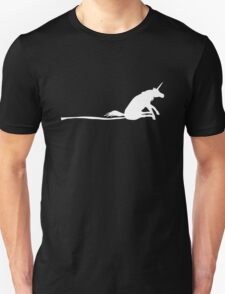 Unicorn Scooting On The Floor T-Shirt