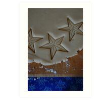 Star Cookies Art Print