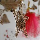 Red Ballerina by Danielle  La Valle