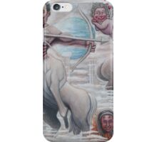 Humorous Painting for my Boss iPhone Case/Skin