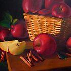 Red Apples by Diana Davydova
