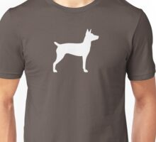 Rat Terrier Silhouette(s) Unisex T-Shirt