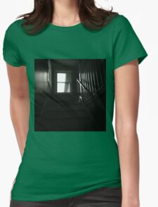 Staircase. Womens Fitted T-Shirt