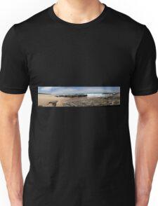 Beach Panoramic. Unisex T-Shirt