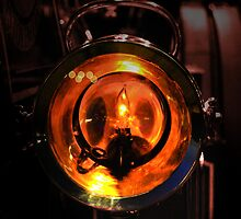 Lamp of the engine by Rob Hawkins