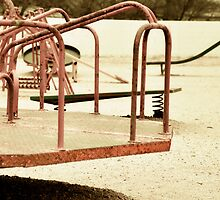 Drive In Theatre Play Ground - La Mesa Texas by jphall