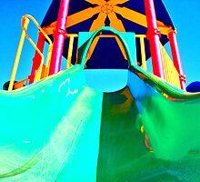Playground Slide by Regan Hansen