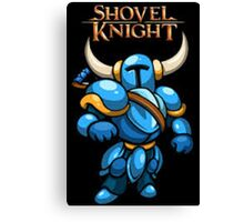 Shovel knight!!! Canvas Print