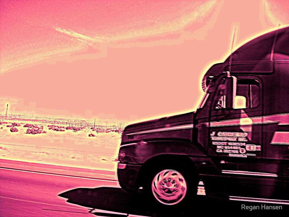 On the Way to California by Regan Hansen