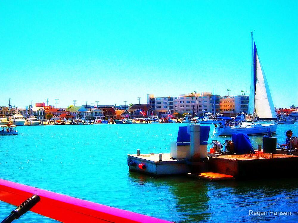 Balboa Island Ferry by Regan Hansen