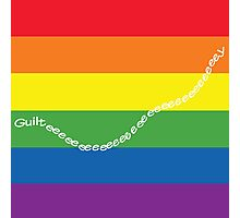 guilty gay pride family guy Photographic Print