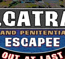 Alcatraz Escapee Sticker