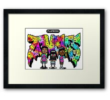 Flatbush Zombies 3 Framed Print