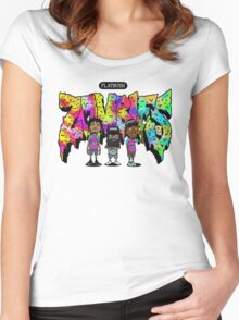 Flatbush Zombies 3 Women's Fitted Scoop T-Shirt