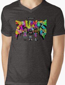 Flatbush Zombies 3 Mens V-Neck T-Shirt