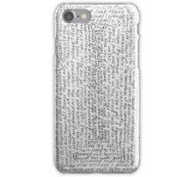 Words 1 iPhone Case/Skin