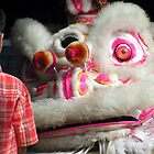 Local Boy and chinese dragon ,Chinese New Year - Sumatra by suellewellyn