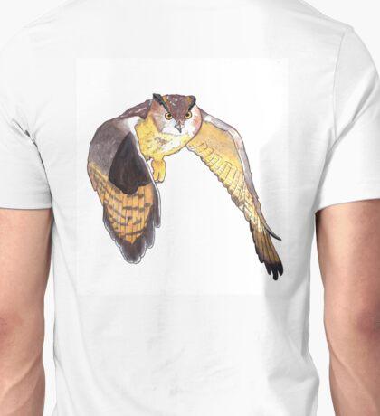 European Eagle Owl Unisex T-Shirt