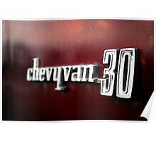 Chevy Van 30 Poster