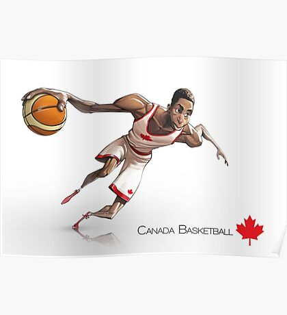 Andrew Wiggins - Canada Basketball Poster