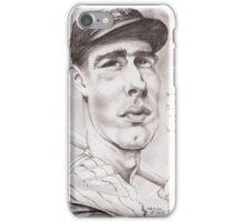 'Joe DiMaggio' gourmet caricature by Sheik iPhone Case/Skin