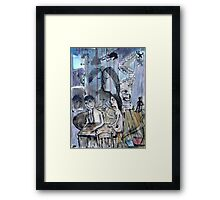 from the basement of the empty heart..... Framed Print