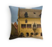 Regensburg Altes Rathaus Throw Pillow