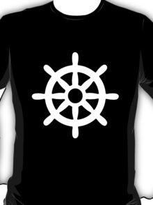 Steering Wheel Sail Boat T-Shirt
