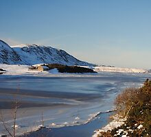 Sutherland on ice by Neil Crittenden