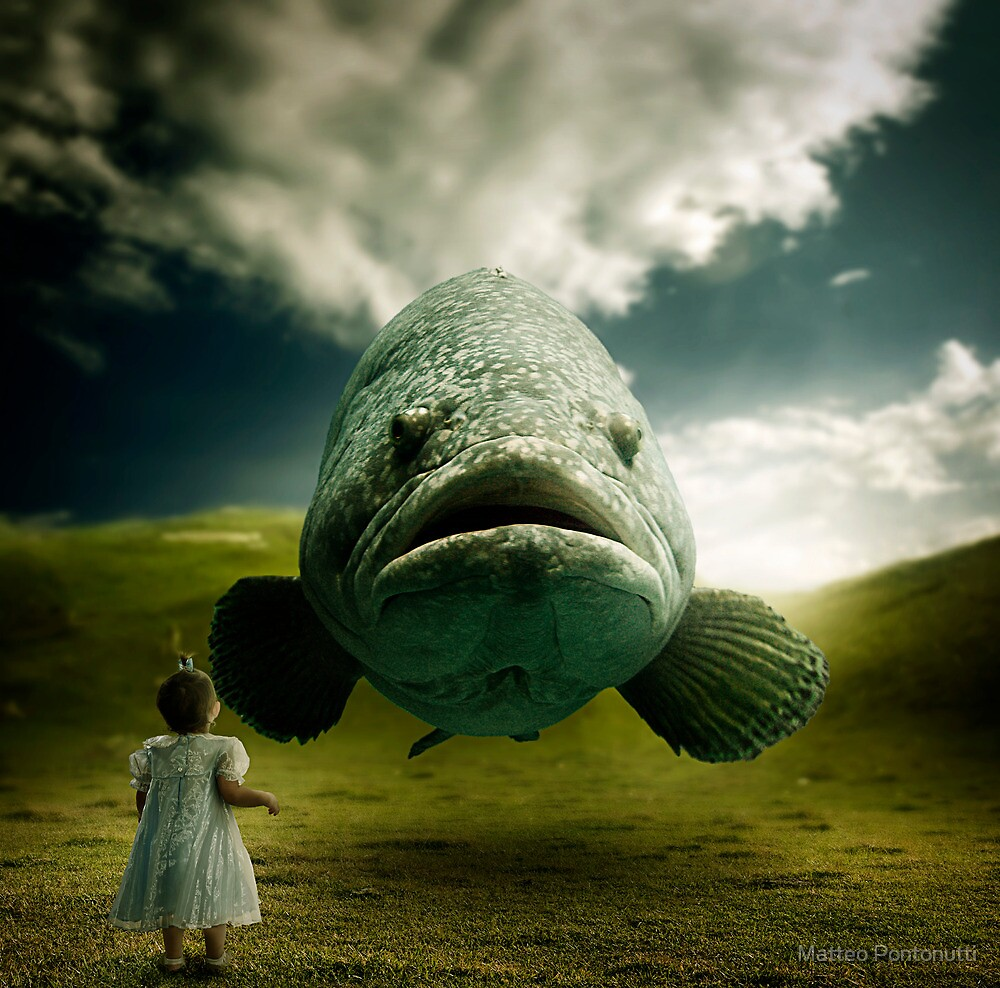 To Swim in Air by Matteo Pontonutti