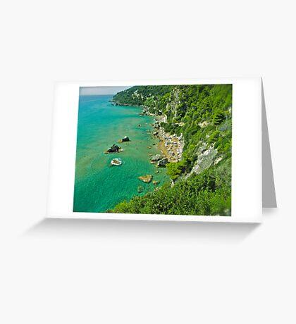 5 ★★★★★ . The beach of Myrtiotissa . Corfu. Greece  -  one of the most beautiful beaches in Europe. by Brown Sugar. F*** Views (637) . Favs (4). Mu ine poli efcharisto ! thanks !!! Greeting Card