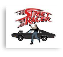 Street Racer Canvas Print
