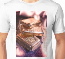 goldbars  and  flame Unisex T-Shirt