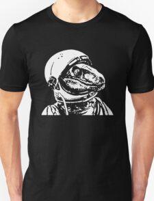 Space Dinosaur Velociraptor Astronaut Unisex T-Shirt