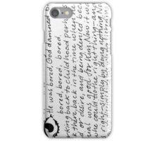 Words 7 iPhone Case/Skin
