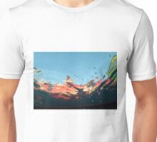 abstract underwater background Unisex T-Shirt