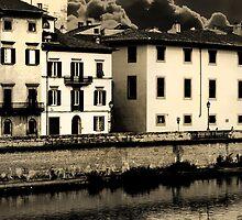 Stormy Pisa by Anna Goodchild