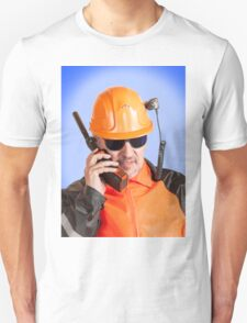 Industrial worker. T-Shirt